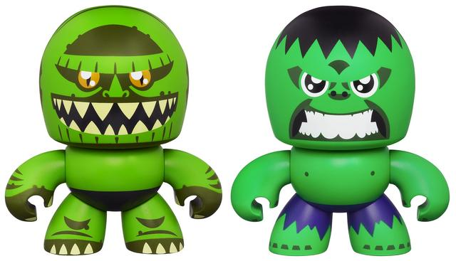 Two-Pack Avengers Mini Muggs Hulk and Abomination